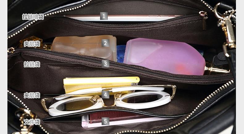 Dame prave kože Retro torbu Luksuzni Žene torba Serpentine Večer - Torbe - Foto 5