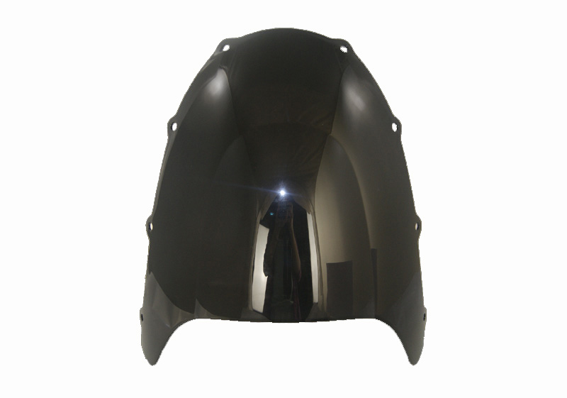 Motorcycle Double Bubble Windscreen Windshield Shield Screen For Kawasaki ZX9R ZX 9R 1998 1999