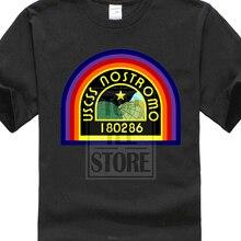 Uscss Nostromo Patch T Shirt Alien Prometheus Weyland Yutani Logo Saga T Shirt босоножки prometheus p13xl378