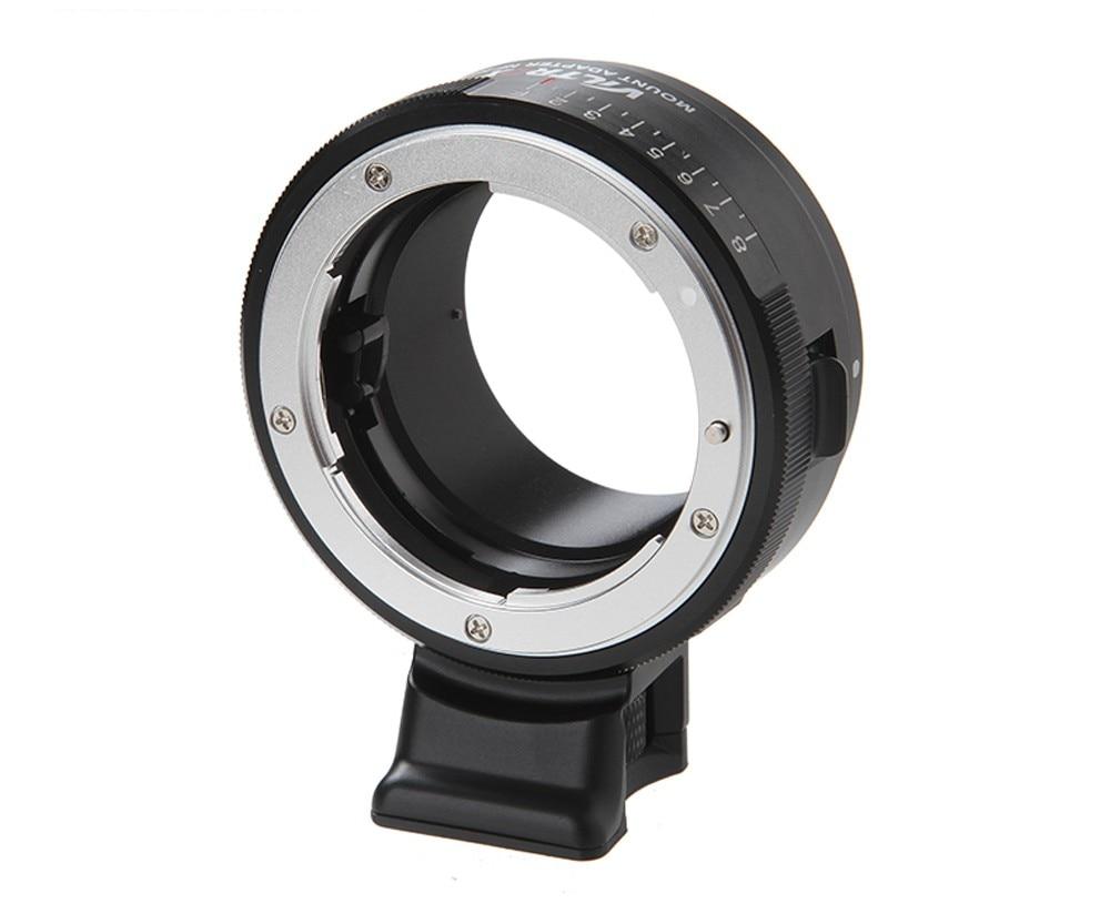 Viltrox adaptateur d'objectif de NF-NEX avec anneau d'ouverture de montage sur trépied pour objectif Nikon F AF-S AI G à Sony E NEX Camera A7 A7R NEX 7 6 5 3