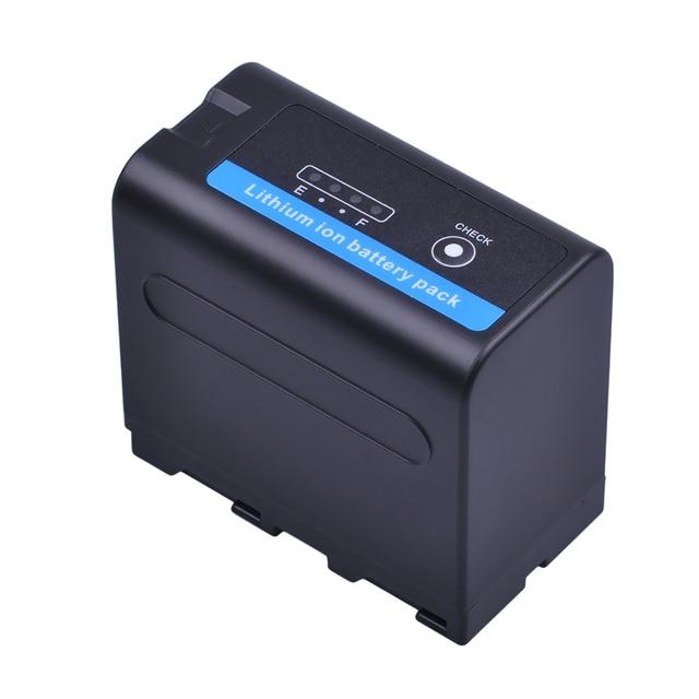 Batmax 2pcs 7200mAh NP-F970 F960 F970 NP-F960 Battery akku with LED Power Indicators for Sony NP-F550 NP-F770 NP-F750 F960 F970
