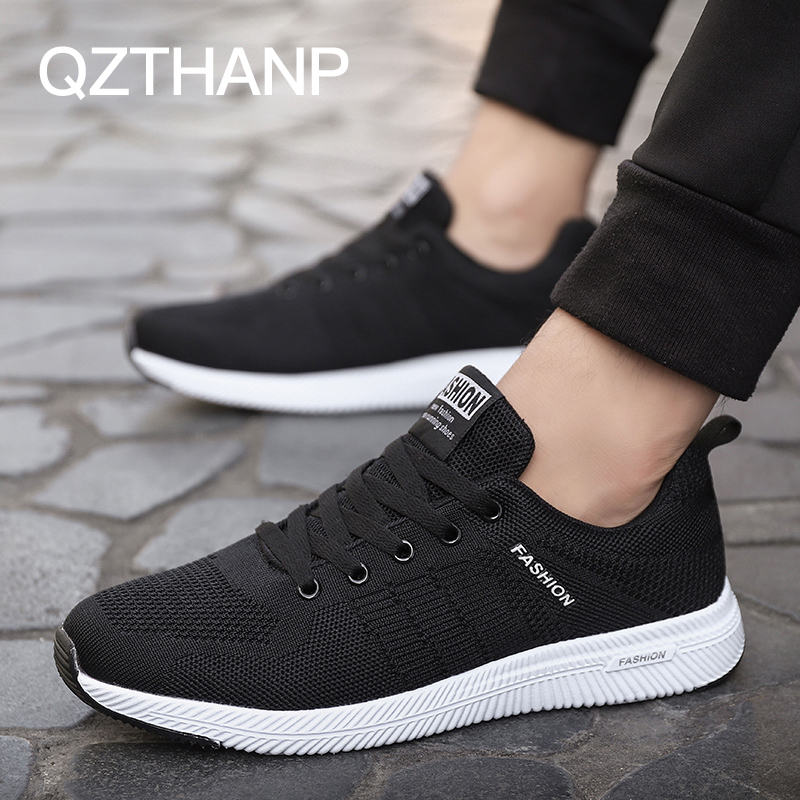 Homme Mâle Zapatos Adulte Calzado Tenis Chaussures Hombre Lace Krasovki blue Up Black Mesh Masculino Hommes Casual Respirant grey qr7xqvwB5