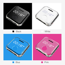 16G Mini MP3 Bracelet Portable Metal Clip Sports Music Player Support WAV Voice Recorder FM Radio Play 30 Hours High Quality