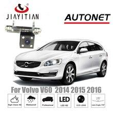 Câmera de Visão Traseira Para Volvo V60 JIAYITIAN 2014 2015 2016 CCD Night Vision câmera Reversa de Backup Câmera de Estacionamento Assistência