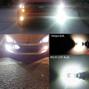 Image 2 - WLJH 2x12V 24V Высокая яркость Canbus PSX24W противотуманный светильник Светодиодный лампа 2504 светодиодный дневный ходовой фонарь светодиодный s для Jeep wrangler subaru impreza