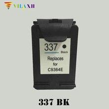 Vilaxh 337 Compatible Black Ink Cartridge Replacement for HP For Photosmart C4180 2570 8050 C4190 Deskjet 5940 6940 Printer