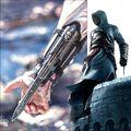 Assassins Creed IV Bandera Negro Edward Hoja Oculta Guantelete Réplica Cosplay Apoyos Cráneo Hebilla