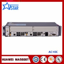 Mini MA5608T  Gpon/Epon Hua Wei FTTH Gpon OLT with 2*MCUD1 10G Uplink