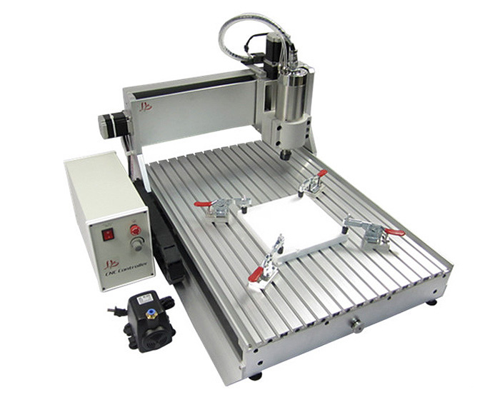 Cnc router 6090 metal carving machine 1.5KW water cooled cnc milling machine 110v 220v  6090 cnc carving machine cheap cnc router desktop cnc milling machine
