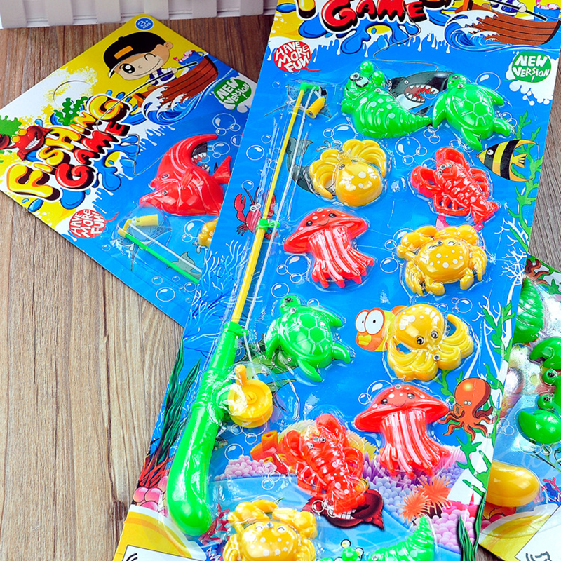 Fish Toy Game 70s : Popular plastic toy fish buy cheap lots