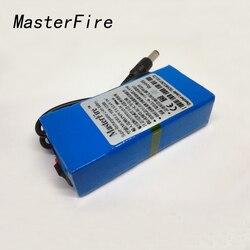 MasterFire YSN-12300 12V 3000mah Li-ion Super Rechargeable batterie au Lithium avec prise + chargeur pour émetteur CCTV caméra