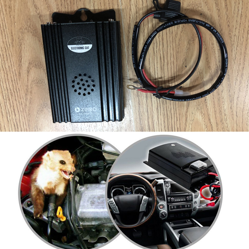 Car Electronic Ultrasonic Rejector Mouse Rat Mouse Repellent Anti Mouse Repeller Auto Mibile Electronic Mouse цена