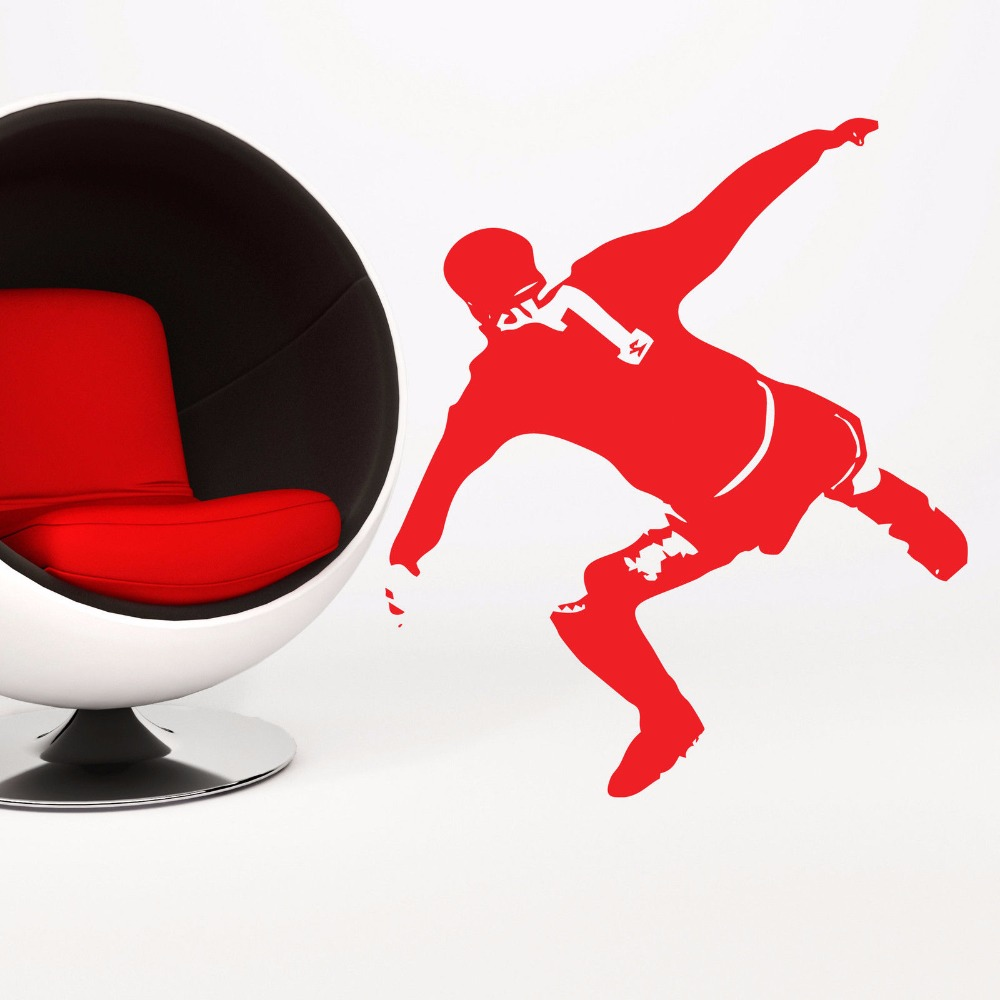 3.5m members in the publicfreakout community. Eric Cantona Famous Kung Fu Kick Football Soccer Player Sport Star Silhouette Poster Pop Art Wall Sticker Removable Vinyl Decal Vinyl Decal Sticker Removerart Wall Sticker Aliexpress