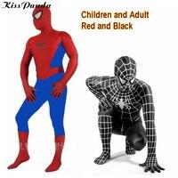 Spiderman Costume Cosplay Halloween Costumes For Women Kids Man Adult Spider Man Superhero Costumes Clothing Christmas