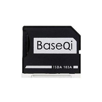 BASEQI Aluminum microSD Adapter Metal TF Card Reader for MacBook Air 13 and MacBook Pro 2009 2010 2011 2012 13/15 Non-Retina
