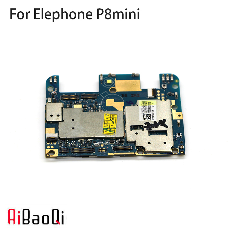 AiBaoQi New Original mainboard 4G 64G ROM Motherboard flex cable board for Elephone P8 Mini Phone