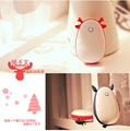 4500mAh Power Bank Hand Warmer Cartoon Style External Backup Mobile USB Charger Hand Warmer Mini Pocket Heater Christmas Gift