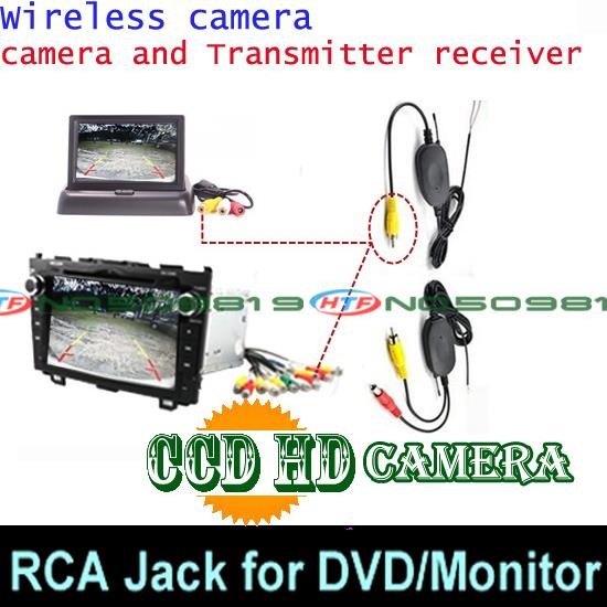 Проводной и беспроводной автомобильная парковочная камера заднего вида камера для Jeep Renegade автомобиля и функцией ночной съемки Водонепроницаемый - Название цвета: ccd wireless DVd