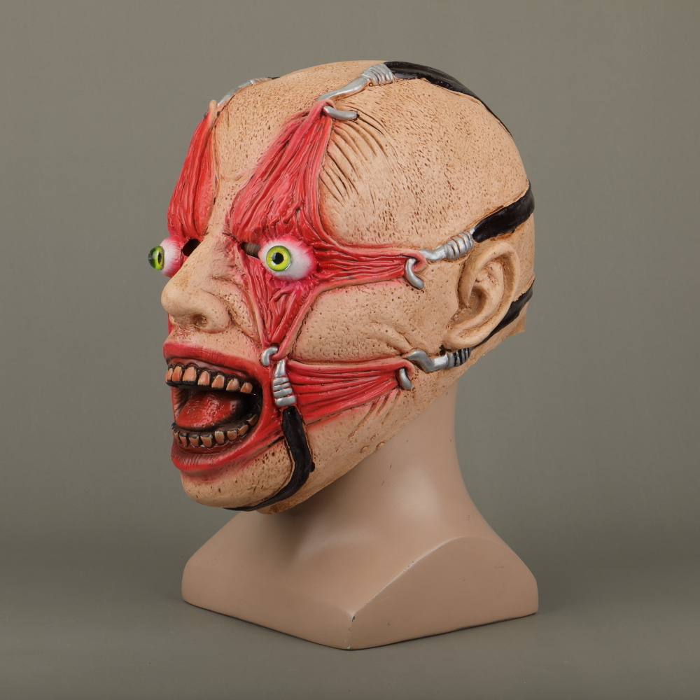 Halloween Masks Latex Party Horrible Scary Prank Cankered Skin Horror Mask Fancy Dress Cosplay Costume Mask Masquerade (4)