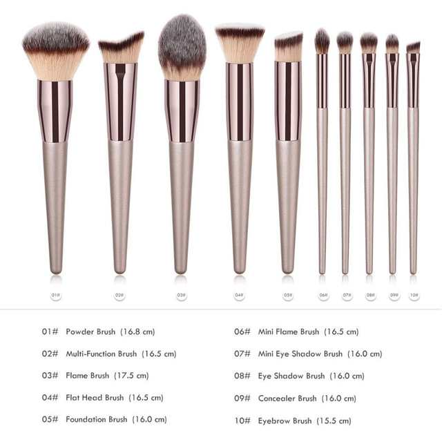 placeholder New Women s Fashion Brushes 1PC Wooden Foundation Cosmetic  Eyebrow Eyeshadow Brush Makeup Brush Sets Tools Pincel dbb32c415
