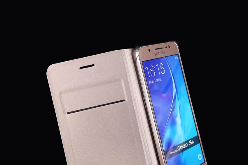 Slim Flip Cover Shell Phone Bag con tarjetero Funda de cuero Funda - Accesorios y repuestos para celulares - foto 3