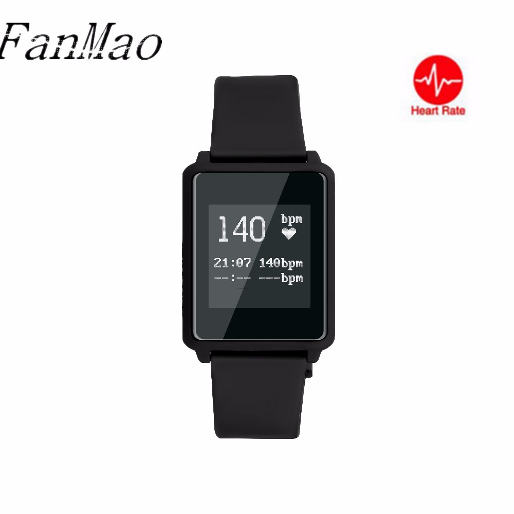 Smart Band Heart Rate Monitor Ultra Thin Touch Screen 0 96 inch Watch Fashion Pedometer Sports