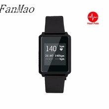 Smart пульсометр ультра-тонкий Сенсорный экран 0.96 дюймов часы Мода Шагомер спортивный смарт-браслет для iOS и Android
