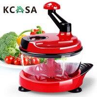 KC MFP1 Multifunction vegetable Food Processor Kitchen Manual Food Chopper Mixer Salad knife Maker for kitchen tool gadget