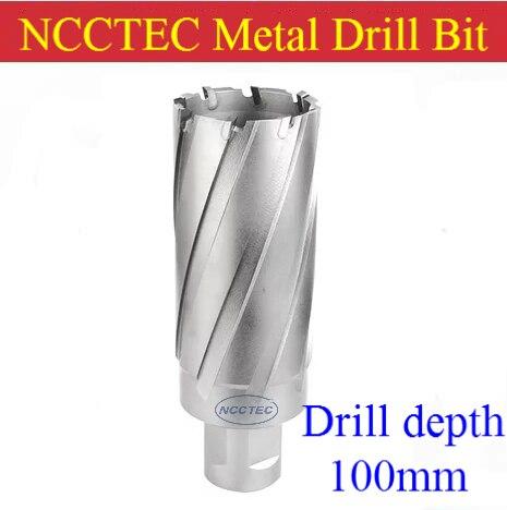 [4'' 100mm drill depth] NCCTEC 66mm 67mm 68mm 69mm 70mm diameter steel board Tungsten carbide metal drills bits FREE shipping 35mm ncctec core drill magnetic base drills nmd35c 1 4 14kg net weight 1200w