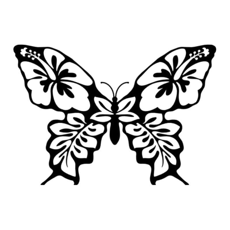 Online Get Cheap Flower Vinyl Decal Aliexpresscom Alibaba Group - Butterfly vinyl decals