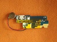 Used Original USB Plug Charge Board For Doogee Y6 Piano Black 5 5 HD MTK6750 Octa