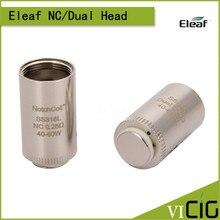 100% Original Eleaf SS316 Dual coil NotchCoil nc coil 0.25ohm Replacement Coil Head for LYCHE Atomizer 5pcs/lot