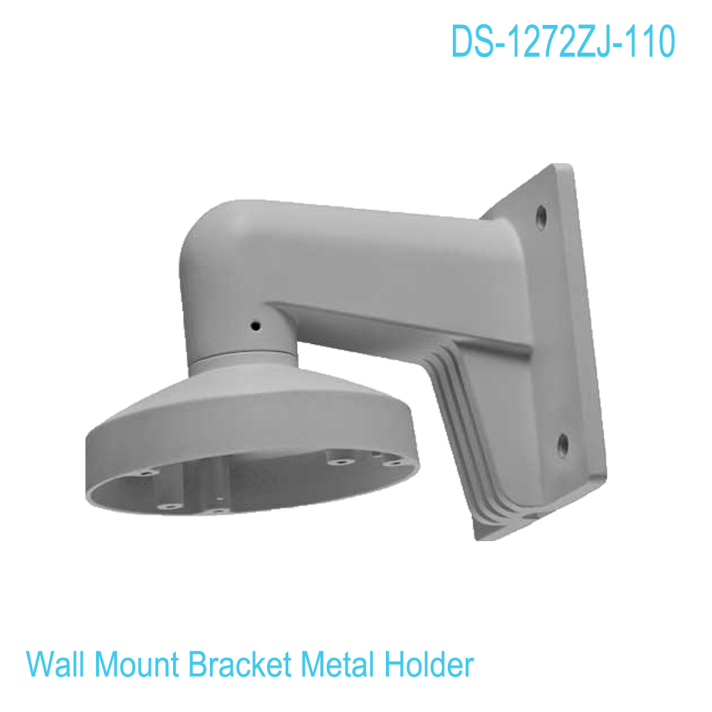 CCTV Bracket DS-1272ZJ-110 for DS-2CD21xx Series DS-2CD31xx Series Wall Mount Bracket for security cameras junction box ds 1602zj box corner ptz camera bracket corner mount bracket with junction box