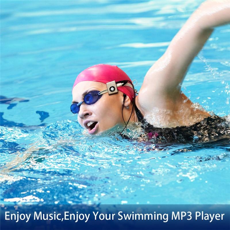 mp3 player natação mergulho surf 8 gb