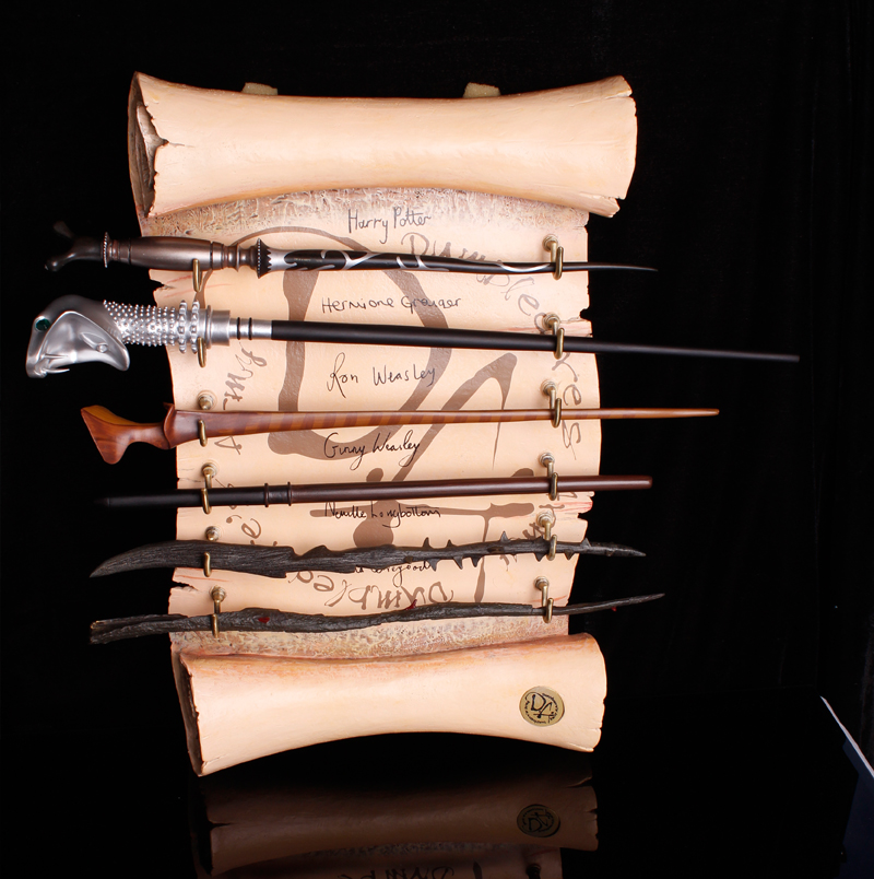 Newest Metal Core Newest Quality Deluxe Harry Potter Lucius Malfoy Tonks Magic Wands Stick with Gift