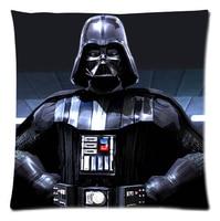 Custom Star Wars king Fashion Style Cotton Linen Decorative Suitbale Single Pillow Case Standard Size 18''x18''(Twin Sides)