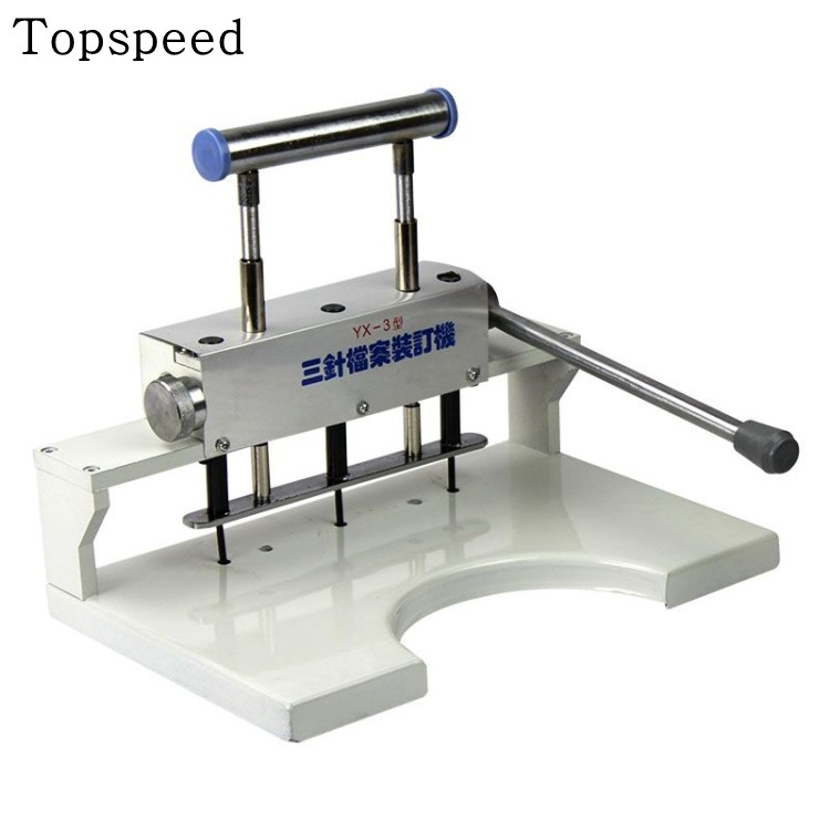 New 3 hole drilling machine Paper Punch machine for document Book binding machine 1pc brand new and high quality paper cutting punch combination punching hole pattern in three file binding machine
