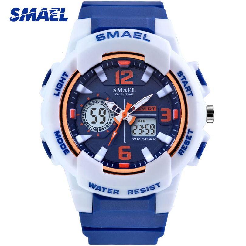 SMAEL 2019 New Fashion Sport Watches For Women Men Top Brand Luxury Watch Clock Quartz Lovers Casual Watch Relojes Para Mujer
