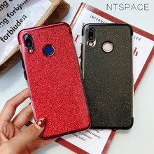 For Huawei Mate 20 Pro 20X Mate 10 9 Lite Pro Glitter TPU Silicone Phone Case For Huawei Honor Note 10 V10 9 9i 7X 8X Back Cover beautiful glass mobile phone funda cover for huawei honor 10 8x 8x max 9 9i 9lite note10 v10 v9 y9 2019 mate 20 lite p30 pro