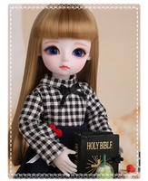 1/6 BJD кукла BJD/SD мода прекрасный Lonnie полимерный соединитель кукла для девочки подарок на день рождения