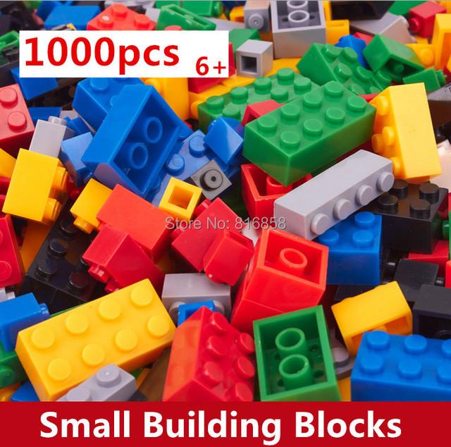 1000 unids Bloques de Construcción de Juguetes de Los Niños Educativos Compatible