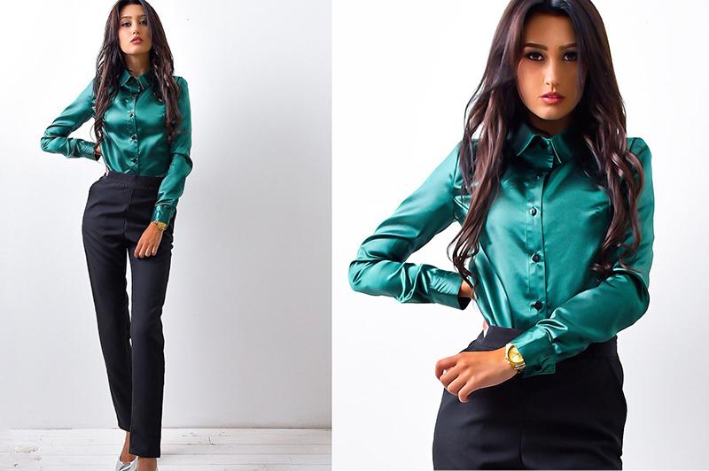 ldzhps новый 2017 для женщин рубашка с длинным рукавом для женщин блузки для малышек женские офисные рубашки для мальчиков топы корректирующие зеленая рубашка женский блузы blusas камиза женщин