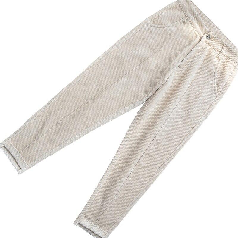 Nouveau 2019 femmes pantalons grande taille hiver printemps H-7 taille élastique décontracté femmes pantalons FXF23-1-18