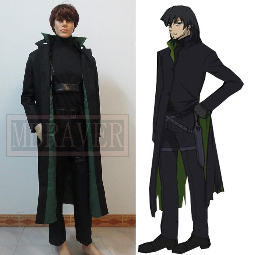 Darker than Black Hei Windbreaker Anime Cosplay Costume custom made Free Shipping