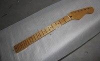 2 unids CALIENTE Al Por Mayor de calidad Superior F ST 21 traste de la guitarra de Arce mástil de la guitarra eléctrica del cuello del arco,