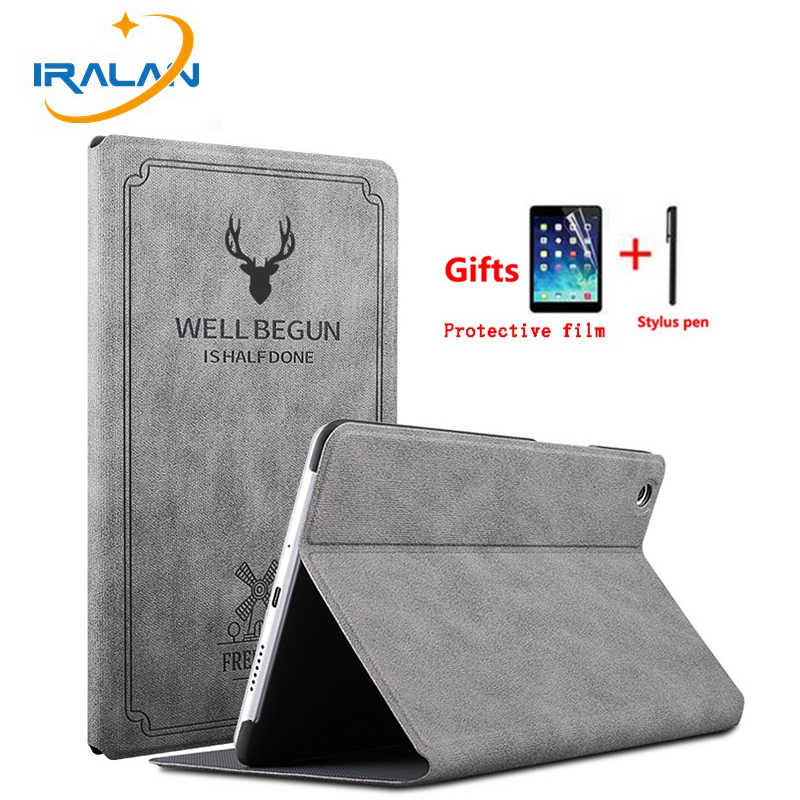 Retro Leather Smart Case For Huawei MediaPad M5 10.8 CMR-AL09 CMR-W09/ 10 Pro CMR-W19 Auto Wake Sleep Stand Flip Cover film+pen