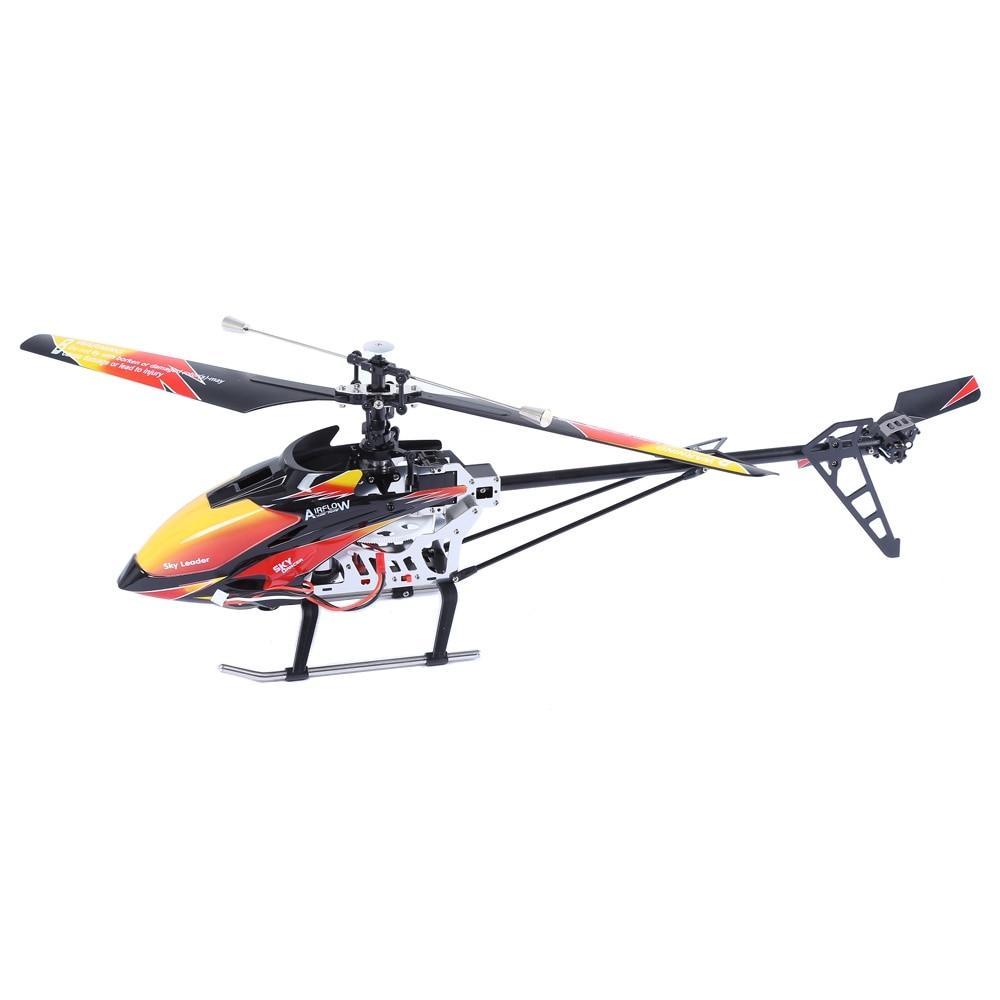 все цены на Original WLtoys V913 Single Propeller 2.4G 4CH MEMS Gyro RC Helicopter with LCD Transmitter RTF Drone онлайн