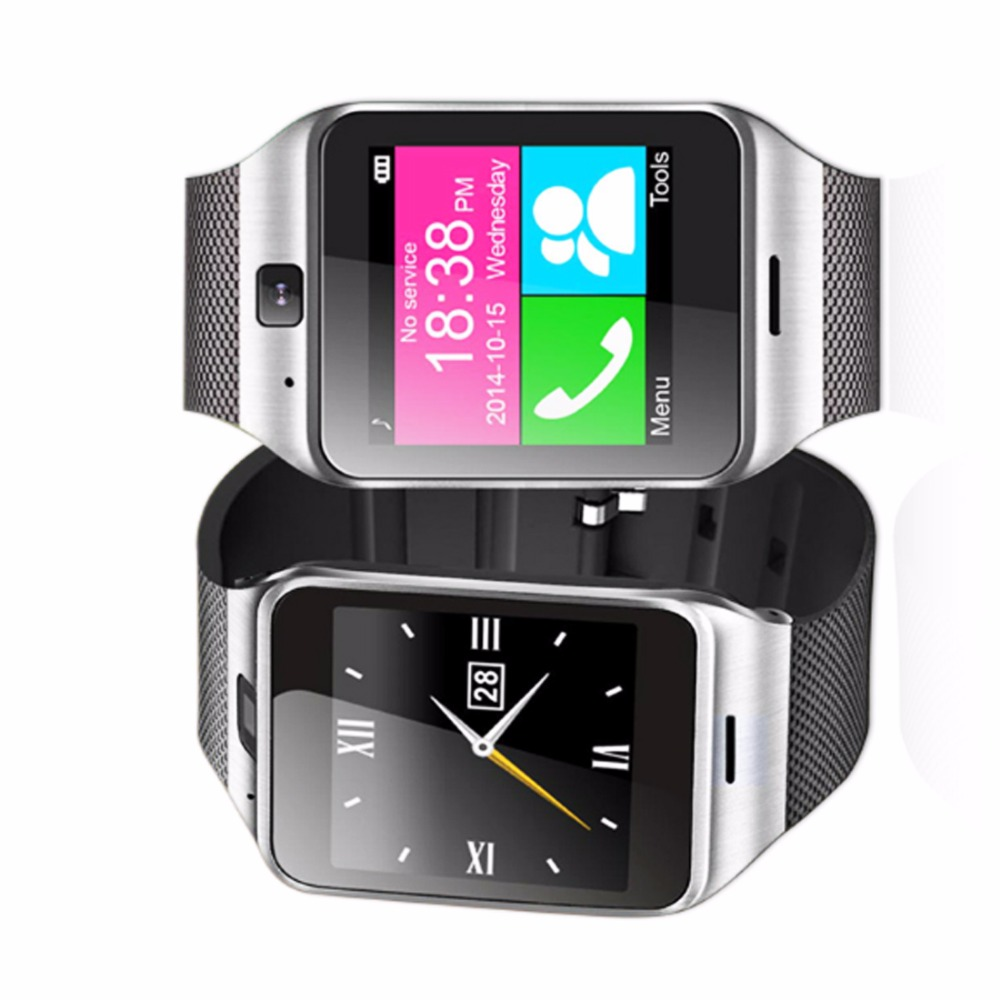 A-plus Smart Watch GV18 Android Clock SIM Card Bluetooth Smartwatch Waterproof W