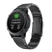New Quich Install Metal Watch Bands Stainless Steel Strap For Garmin Fenix 5 5X 5S 3