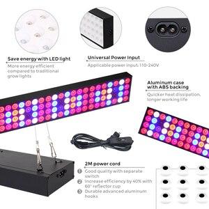 Image 3 - Светодиодная промышленная лампа полного спектра Venesun 100 Вт, панельные лампы для выращивания растений, алюминиевые лампы для внутренних теплиц, фотолампы/овощи/цветение